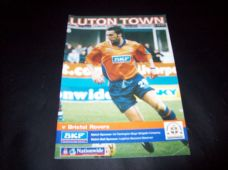 Luton Town v Bristol Rovers, 1999/2000